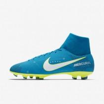 Nike Mercurial Victory VI Dynamic Fit Neymar FG Botas de fútbol para suelo firme Hombre / Mujer 921506-400 Azul Orbit / Azul Orbit / Armory Azul marino / Blancas