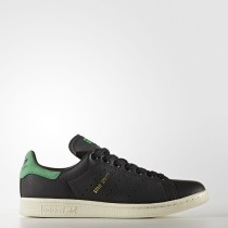 Hombre Adidas Originals Stan Smith Zapatos Core Negro / Core Negro / Verde