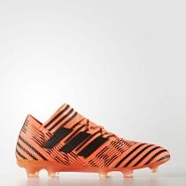 Hombre Adidas Fútbol Nemeziz 17.1 Botas de tierra firme Solar Naranja / Core Negro / Solar Rojo BB6079