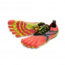 Vibram Fivefingers V-RUN Mujer Fiery Coral