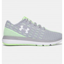 Mujer Under Armour Threadborne Slingflex Zapatos Gris / Verde