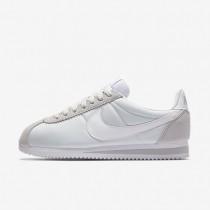 Zapatillas Mujer Nike Classic Cortez 15 Nylon 749864-010 Pure Platinum / Blancas