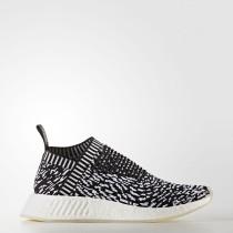 Adidas Originals NMD_CS2 Primeknit Zapatos Mujer Hombre Core Negro / Calzado Blancas BY3012