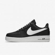 Zapatillas Hombre Nike Air Force 1 Low 07 NBA 823511-007 Negro / Blancas