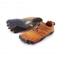Vibram Fivefingers V-Trail Hombre Naranja Gris Negro