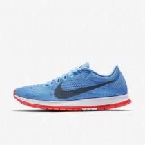 Zapatillas de running Nike Zoom Streak 6 Hombre Mujer 831413-446 Azul Fútbol / Bright Crimson / Blancas / Azul Fox
