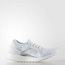 Zapatillas Mujer Running Adidas Ultraboost X Parley Calzado Blancas / Icey Azul BY2707