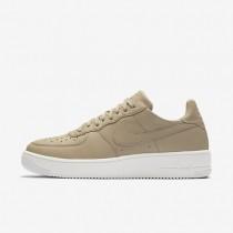 Zapatillas Nike Air Force 1 UltraForce Leather Hombre 845052-202 Mushroom / Negro / Summit Blancas / Mushroom