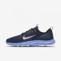 Zapatillas de golf Nike FI Bermuda Mujer 776089-400 Azul marino medianoche / Chalk Azul / Bright Crimson / Blancas