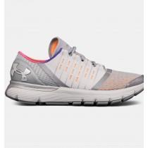 Calzado de running Under Armour SpeedForm® Europa, Mujer Gris / Naranja / Fucsia (100)