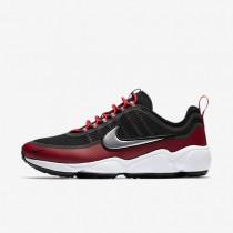 Zapatillas Nike Zoom Spiridon Ultra Hombre 876267-005 Negro / Gym Rojo / Blancas / Metallic Platinum
