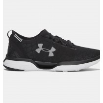 Zapatillas de running CoolSwitch cargadas Mujer Under Armour Negro (001)