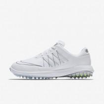Zapatillas de golf Nike Lunar Control Vapor Hombre 849971-101 Blancas / Plata metalizada / Plata metalizada / Blancas