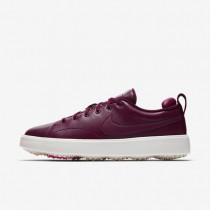 Zapatillas de golf Nike Course Classic Mujer 904680-600 Bordeaux / Sail / Hyper Fucsia / Bordeaux