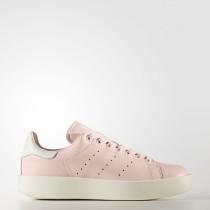 Mujer Adidas Originals Stan Smith Bold Zapatos Icey Fucsia / Icey Fucsia / Calzado Blancas