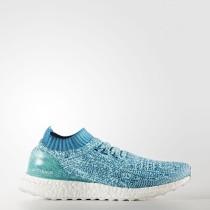Running Adidas UltraBOOST Zapatos sin rejilla Mujer Energy Aqua / Mystery Petrol / Calzado Blancas S80781