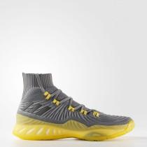 Baloncesto Adidas Crazy Explosive Primeknit Zapatos Hombre Gris Four / Core Negro / Gris Five CQ1396