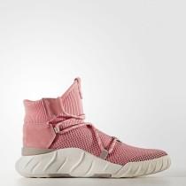 Zapatillas Mujer Adidas Originals Tubular X 2.0 Primeknit Rosa Táctil / Rosa Táctil / Off Blancas BY2124
