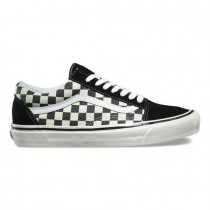 Hombre Vans Anaheim Factory Old Skool 36 DX Zapatos Negro / Check