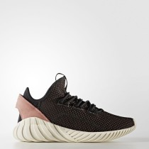 Zapatillas Mujer Adidas Originals Tubular Doom Sock Primeknit Core Negro / Core Negro / Raw Fucsia BY9335