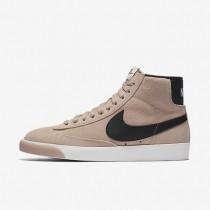 Zapatillas Mujer Nike Blazer Mid Vintage 917862-601 Partículas Fucsia / Marfil / Goma Medianas Marrón / Negro