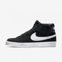 Zapatillas de skate Nike SB Blazer Premium SE Hombre 631042-003 Negro / Blancas / Base Gris