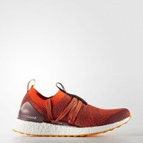 Mujer adidas de Stella McCartney UltraBOOST X Zapatos Clay Rojo-Smc / Radiant Naranja / Apricot Rose-Smc CG3686