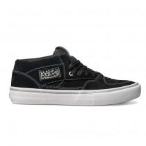 Hombre Vans Half Cab Pro Zapatos Negro / Plata