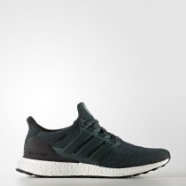 Running Adidas UltraBOOST Zapatos Mujer / Hombre Verde Night / Core Negro S82024