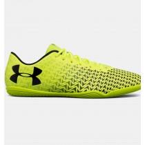 Zapatillas de fútbol sala Under Armour CF Force 3.0 Hombre Amarillo / Negro (726)
