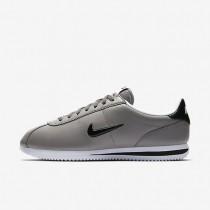Hombre Nike Cortez Basic Jewel Zapatos 833238-001 Dust / Blancas / Negro