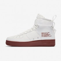 Zapatillas Nike SF Air Force 1 Mid Hombre 917753-100 Ivory / Mars Stone / Ivory