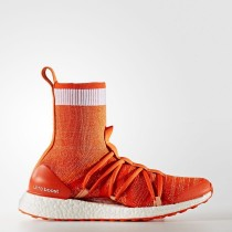 adidas by Stella McCartney UltraBOOST X Mid Zapatos Mujer Radiante Naranja / Calzado Blancas / Albaricoque Rose-Smc CM7736