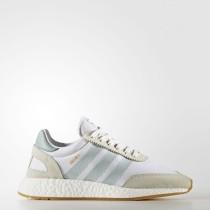 Adidas Originals Iniki Runner Zapatillas Mujer Calzado Blancas / Tactile Verde / Gum BY9092