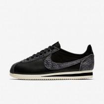 Zapatillas Mujer Nike Classic Cortez Premium 905614-002 Negro / Sail / Negro