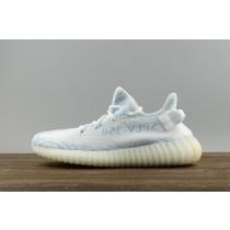 "Adidas Yeezy Boost 350 V2 Mujer Hombre ""Azul Zebra"" Blancas y Azul claro"