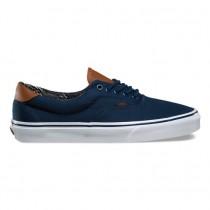 Vans C & L Era 59 Zapatos Vestido Azul Mujer