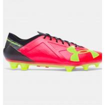 Botas de fútbol Under Armour SpotLigero FG Hombre Rojo / Negro / Verde (669)