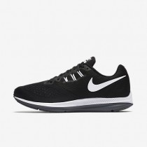 Zapatillas de running Nike Zoom Winflo 4 Hombre 898466-001 Negro / Gris oscuro / Blancas