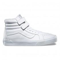 Vans Mono Cuero SK8-Hi Reedición V Zapatos Hombre True Blancas