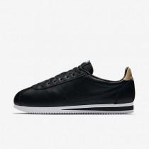 Zapatillas Nike Classic Cortez Leather SE Hombre 861535-004 Negro / Blancas / Vachetta Tan / Negro