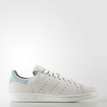 Adidas Originals Stan Smith Zapatos Mujer Crystal Blancas / Crystal Blancas / Icey Azul