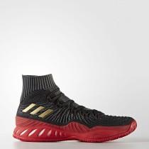 Baloncesto Adidas Crazy Explosive Primeknit Zapatos Hombre Core Negro / Calzado Blancas / Scarlet CQ1395