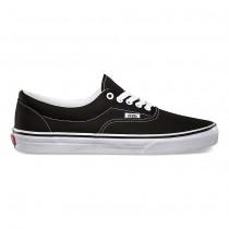 Hombre Vans Era Zapatos Negro / Blancas