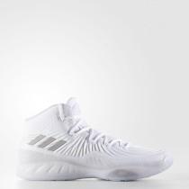 Baloncesto Adidas Crazy Explosive Zapatillas Hombre Calzado Blancas / Lgh Solid Gris / Mgh Solid Gris BY3766