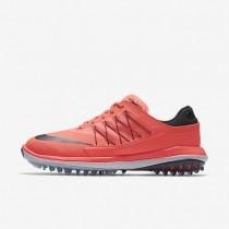 Zapatillas de golf Mujer Nike Lunar Control Vapor 849979-600 Lava Glow / Antracita / Blancas / Metálico Cool Gris