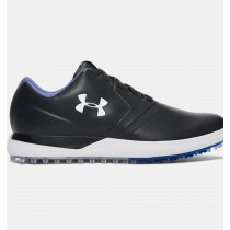 Hombre Under Armour Performance Spikeless Golf Zapatillas Negro (001)
