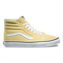 Vans SK8-Hi Zapatillas Mujer Dusky Citron / True Blancas