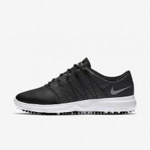 Zapatillas de golf Nike Lunar Empress 2 Mujer 819040-001 Negro / Blancas / Metallic Plata