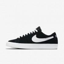 Hombre Zapatillas Nike SB Blazer Low Skateboard 864347-019 Negro / Encías Marrón / Blancas
